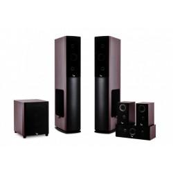 7830/6CH-ZG Balsas Kraft Prestige VK 7830 + Aktyvus žemųjų dažnių garsiakalbis / Vyšnių