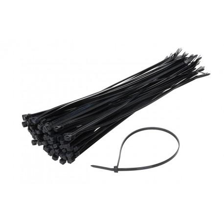 TK 4,8X300 Taśmy kablowe czarne 4,8x300mm - 100 sztuk