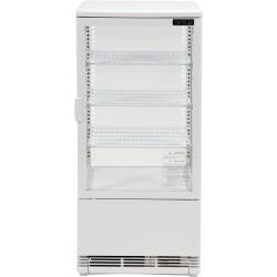 """""""YATO"""" šaldymo vitrina 78L 42x38x96cm balta"""