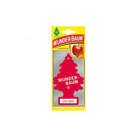 23-054 Zapach samochodowy Wunder Baum - Jabłko / Cynamon