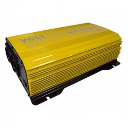 3SIR150024 Srovės keitiklis Sinus-Plus 1500 24V + nuotolinio valdymo pultas