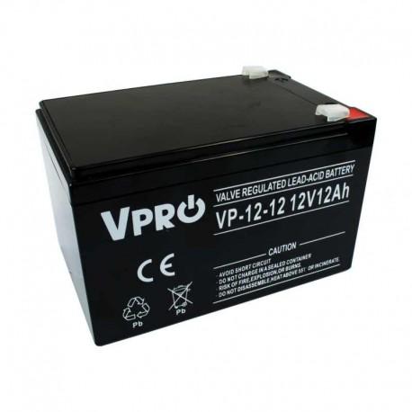6AKUAGM012 Akumulator AGM 12V 12Ah