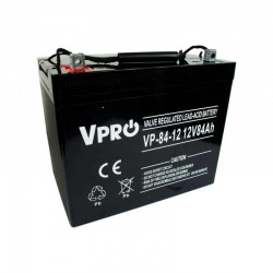 6AKUAGM084 Baterija AGM 12V 84Ah