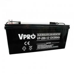 6AKUAGM200 baterija AGM 12V 200Ah