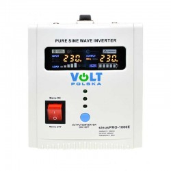 3SP091012E Avarinis maitinimo šaltinis SinusPro-1000E 12V 1000VA 5A/10A