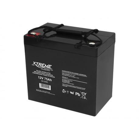 82-229 Akumulator żelowy 12V 75Ah Xtreme