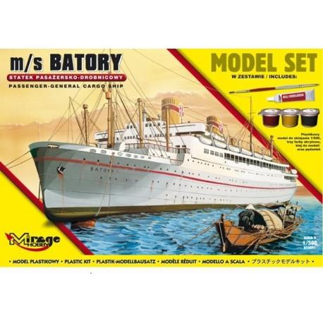 M / S Batory Polnischen Passagierschiff Parcel