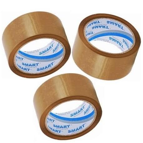 511/AS00 Taśma pakowa brązowa 48x100y na kleju akrylowym Smart