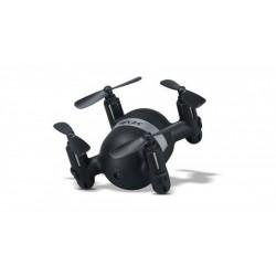 Mini Dronas X929H (2.4GHz, diapazonas 20-30m, giroskopas, zawis, 7.7cm) - Juoda
