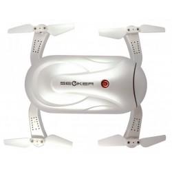 Selfie dron Dobby (Kamera FPV 720p, 2.4GHz, żyroskop, barometr, 13.5cm) - Biały