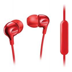 """SHB3705RD/00 Raudonos ausinės su """"Philips"""" mikrofonu"""