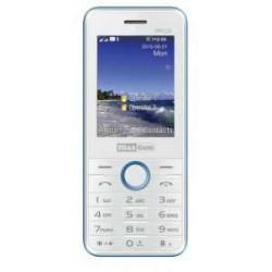 MM 136 Balta ir mėlyna Mobilus Telefonas Dual SIM Maxcom