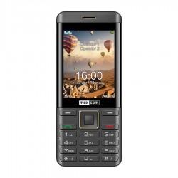 Mm 236 Schwarz-Gold-Handy Doppel-Sim Maxcom