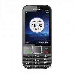 MM 320 Juodas mobilusis telefonas Classic Maxcom