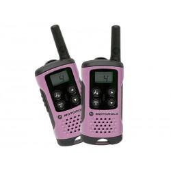 24-915 Radiotelefon PMR Motorola TLKR T41 / różowy