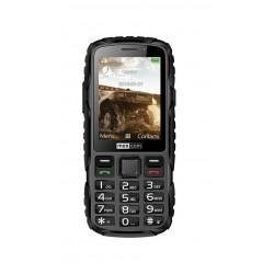 MM 920 Juoda Mobilus Telefonas Stiprus IP67 Maxcom