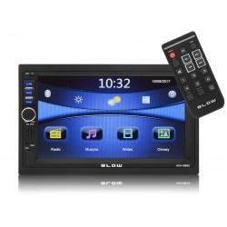 78-220 Radijas Smūgis AVH-9880 2 din 7 colių GPS