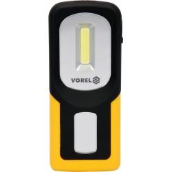 82723 Lampa ręczna obrotowa COB LED 3W akumulatorowa