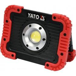 YT-81820 nešiojamas 10W įkraunamas LED prožektorius