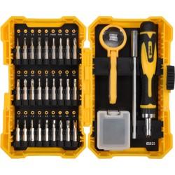 65025 Ratschenschrauber Mit Auswechselbaren Bits - 31 Teile