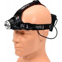 YT-08591 Priekinis žibintas ant galvos XM-L2 CREE 10W