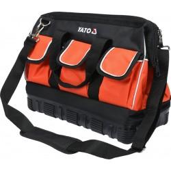 YT-74361 Įrankių krepšys 16 colių su guminiu dugnu