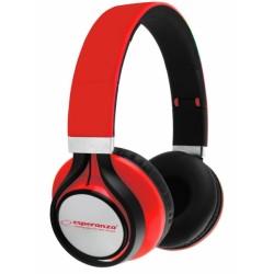 """EH159R """"Audio Freestyle"""" ausinės raudonos """"Esperanza"""""""