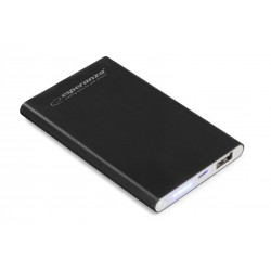 EMP116K Power Bank 4400mAh Super Slim Nucleus czarny Esperanza