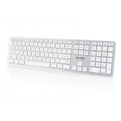 """78-142 """"Bluetooth"""" klaviatūra BK104 Smūgis"""