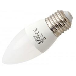 87-210 Żarówka LED E27 C37 Eco 4W światło białe ciepłe