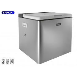 Turistinis šaldytuvas 50L 12V 230V GAS NVOX
