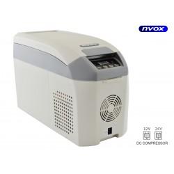 Turistinis šaldytuvas automobilių 15L kompresorius 12V 24V... (NVOX K15F)
