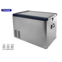 Turistinis šaldytuvas automobilių 25L kompresorius kompresorius 12V 24V 230V... (NVOX K25P)