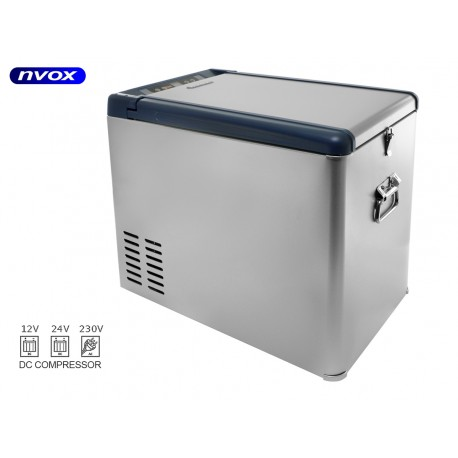 Turistinis šaldytuvas automobilių 35L kompresorius kompresorius 12V 24V 230V... (NVOX K35P)