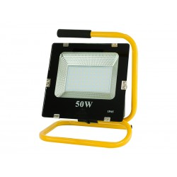 71-474 Lampa halogenowa przenośna LED SMD 50W światło neutralne