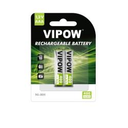 Vipow R03 400 mAh Ni-MH 2pc/bl įkraunamos baterijos