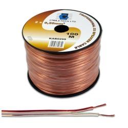 0.2mm garsiakalbio kabelis