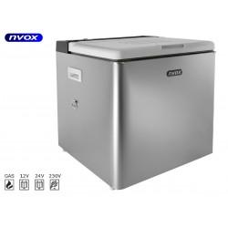 Nvox a50g turizmo šaldytuvas 50l 12v 24v 230v