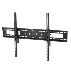 """Televizoriaus arba monitoriaus laikiklis 60-100 """"Maclean MC-750 black max vesa 600x900 70kg, tinka išlenktiems televizoriams"""