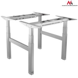 """Dvigubas elektrinio stalo aukščio reguliavimas, """"Maclean MC-794"""" maksimalus aukštis 128 cm 100 kg"""