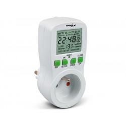 Włącznik czasowy - timer cyfrowy GreenBlue GB107 16 programów max 240 programów