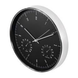 Sieninis laikrodis Maclean CE60 juodas su sidabriniu