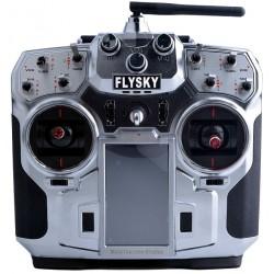 """""""FlySky FS-i10 10CH 2.4GHz"""" + iA10B imtuvas su telemetrijos"""