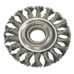 Szczotka tarczowa z drutu stalowego skr. fi178mm proline