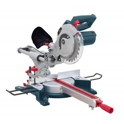 Pilarka ukosowa 1450w, 210mm, 5000/min, laser, prowadnice