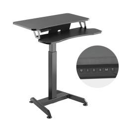 Elektrinis stalas, stalas, darbo vietos reguliavimo aukštis, Maclean MC-835 maksimalus aukštis 122cm ne daugiau kaip 37 kg