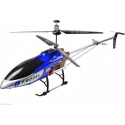 GT Sraigtasparnis QS8006 milžinas (ilgas 134cm, 3.5CH, giroskopas, diapazonas iki 80m) - Mėlyna