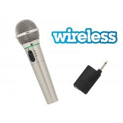 AG100B Mikrofon bezprzewodowy czerwony