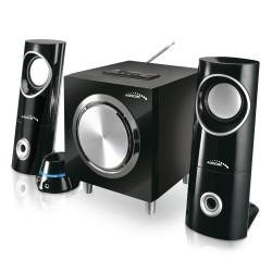 """""""Bluetooth 2.1 Audiocore AC790 FM"""" radijo garsiakalbių rinkinys, SD/MMC kortelės įvestis, AUX, USB,"""