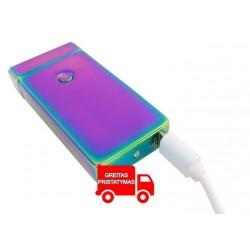 "Elektroninis žibintuvelis ""Electric Arc USB Lighter"" ""Chameleon Black"" 5058"